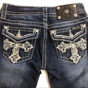 Miss Me Signature Bootcut Jeans Size 26